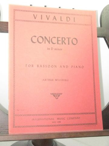 Vivaldi A - Concerto in D Minor F7 No 5 arr Fussl K H